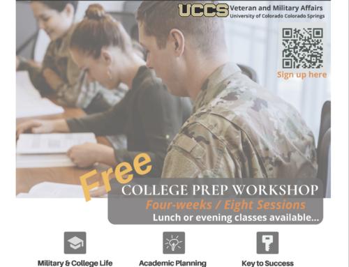 UCCS College Prep Workshops