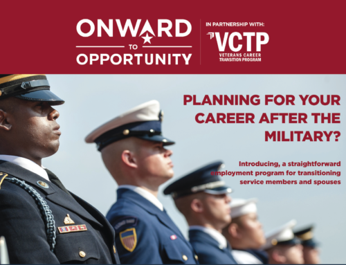 Onward to Opportunity Partners with VCTP