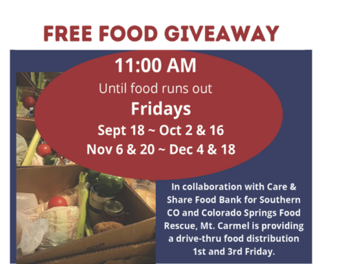 Mt. Carmel Veterans Service Center Food Bank