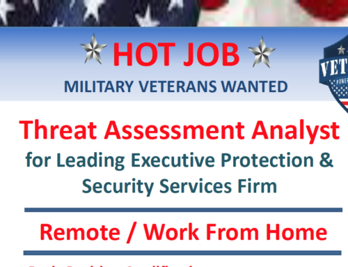 Remote Job Opportunity: Threat Assessment Analyst