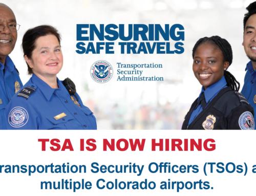 TSA is Hiring!