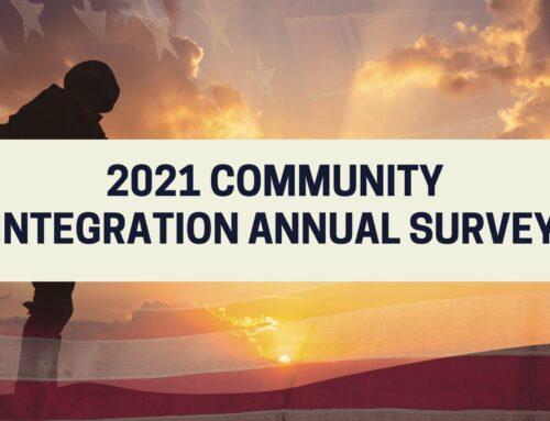 2021 Community Integration Annual Survey