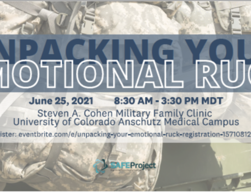 Unpacking Your Emotional Ruck – for military spouses and service member partners.