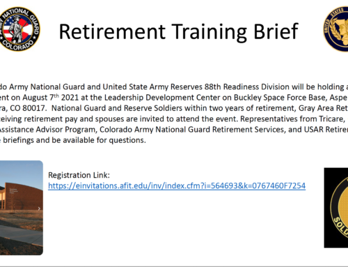 Retirement Training Event