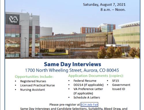VA Eastern Colorado Health Care System Hiring Fair