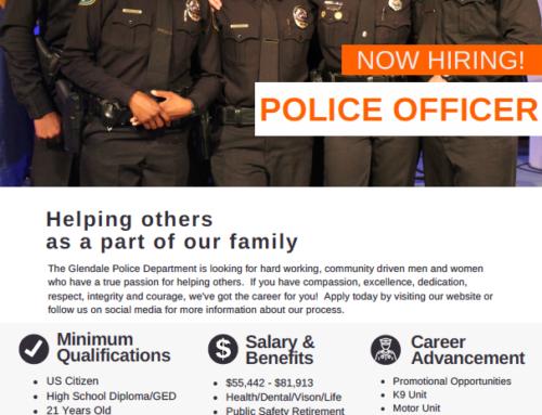 Job Opportunity: Glendale Police Department