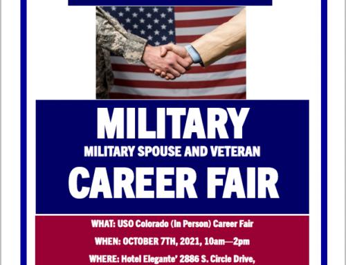 Save The Date: USO Colorado Career Fair